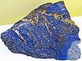 Lapis lazuli (lazuritic metamorphite) (Sar-e-Sang Deposit, Sakhi Formation, Precambrian, 2.4-2.7 Ga (?); Sar-e-Sang Mining District, Hindu-Kush Mountains, Afghanistan) 9 (49166803286).jpg