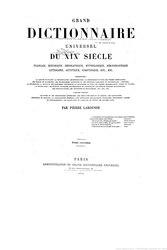 Larousse - Grand dictionnaire universel du XIXe siècle - Molk-Napo