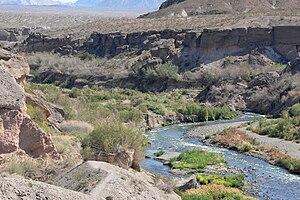 Lower Las Vegas Wash just below Lake Las Vegas...
