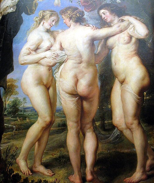 File:Las tres Gracias de Rubens (Detalle).jpg