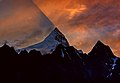 Last sun rays touching shispare peak.jpg