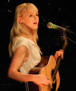 Laura Marling - Marling performing at Sydney Opera House in February 2012.