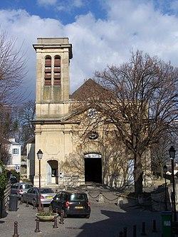 L'église Saint-Wandrille.