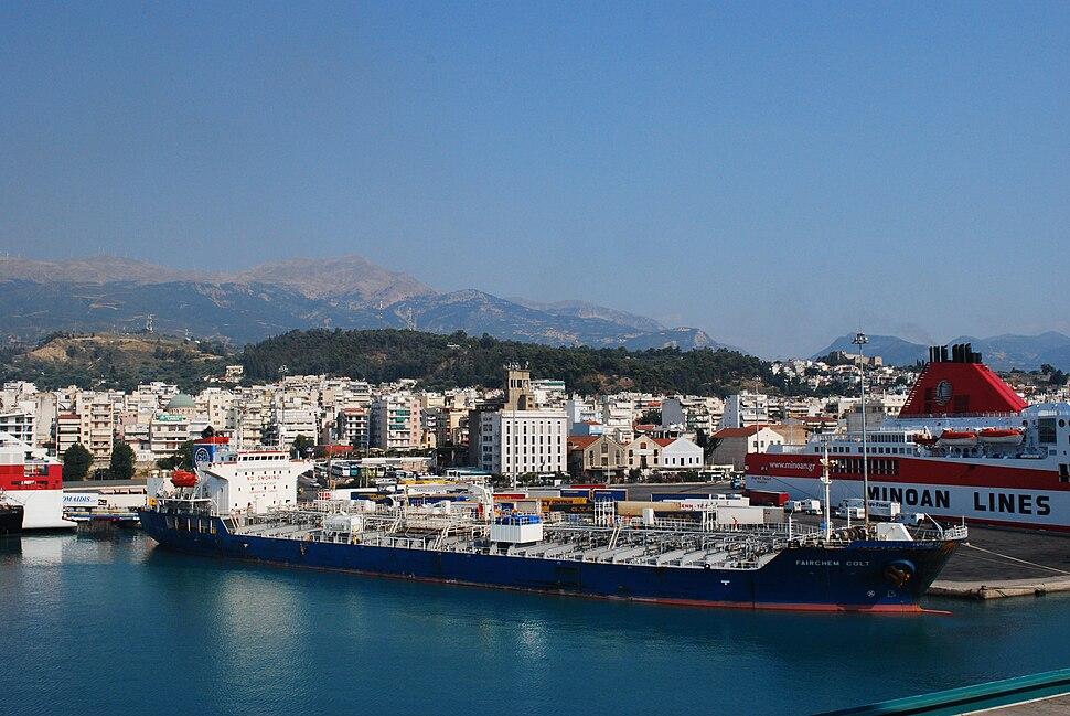Le port de Patras en août 2009 - 3