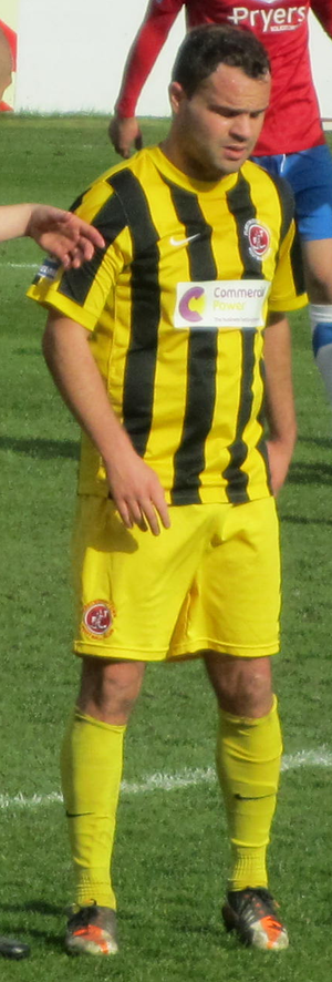Lee Fowler - Fowler playing for Fleetwood Town in 2012