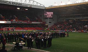 2013–14 Sheffield United F.C. season - The 'Legends of the Lane' at Bramall Lane to celebrate Sheffield United's 125 Birthday.
