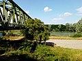Legnago - Fiume Adige oltrepassato dal ponte della ferrovia.jpg