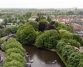 Leiden zicht op begraafplaats Groenesteeg van het dav.jpg