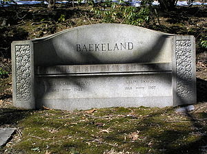 Leo Baekeland - The gravesite of Leo Hendrik Baekeland