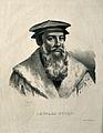 Leonard Fuchs. Lithograph by P. R. Vignéron. Wellcome V0002097.jpg