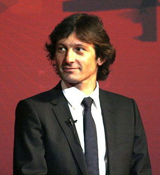 Director of football - Leonardo, former Director of Football at Paris Saint-Germain.