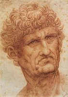 Leonardo da vinci, Head of a man 01.jpg