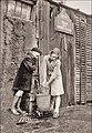 Les enfants à la fontaine. Paris début du 20e siècle.jpg
