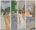Les rues de Paris, panneaux pour Henry Bernstein- Première série, Passy.JPG