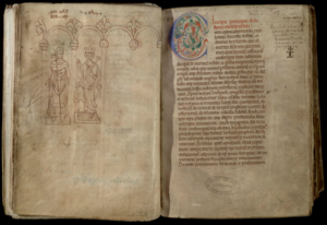 Liber Eliensis - Trinity College, Cambridge MS O.2.1