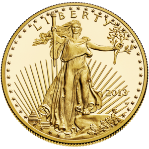 American Gold Eagle - Image: Liberty $50 Obverse