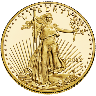 American Gold Eagle - Image: Liberty $50 Obverse