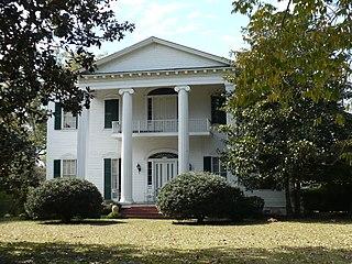 Liberty Hall (Camden, Alabama) historic plantation house near Camden, Alabama, USA