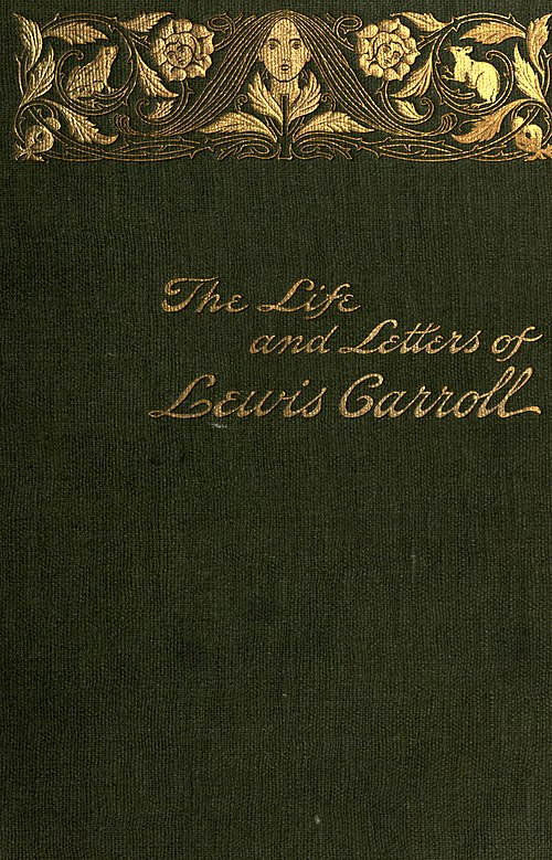 Life and Letters of Lewis Carroll - Cover.jpg