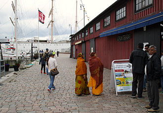 Lilla Bommen - West part of the Lilla Bommen square