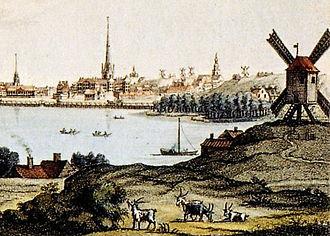 1725 in Sweden - Lilla Munkan 1725