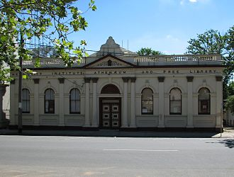 Mechanics' Institutes - Lilydale Mechanics Institute