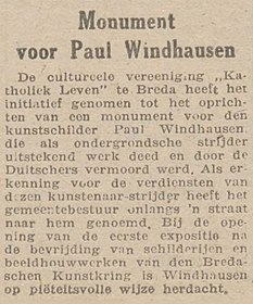 Limburgsch Dagblad vol 029 no 050 Monument voor Paul Windhausen.jpg