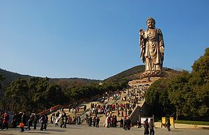 Grand Buddha at Ling Shan - Giant Buddha and 217 Steps, Wuxi