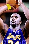 Shaquille O'Neal at freethrow