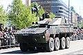 Lippujuhlan päivän 2017 paraati 086 Patria AMV XA-361 AMOS Ps 545-4.jpg