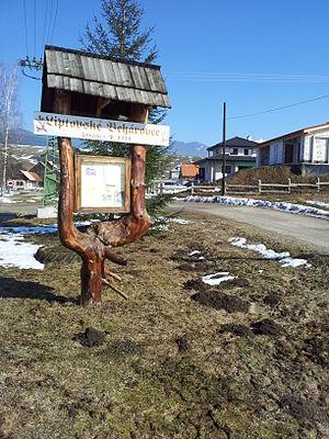 Liptovské Beharovce - Image: Liptovske Bearovce village entry