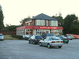 Little Chef - Little Chef in Eastham, Merseyside in 2006