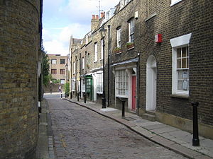 "Dead End Street (song) - Little Green Street, location of the ""Dead End Street"" Music Video."