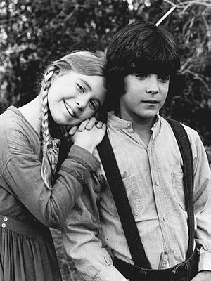 Matthew Labyorteaux - Labyorteaux and Katy Kurtzman on Little House on the Prairie, 1977
