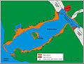 Lituya Bay schemat zniszczen po tsunami.JPG