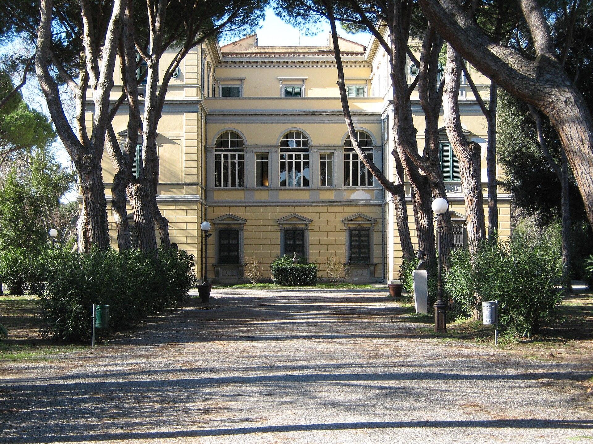 Villa fabbricotti livorno wikipedia for Foto di ville