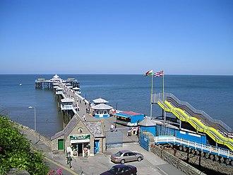 Llandudno Pier - Image: Llandudno Pier P6140188