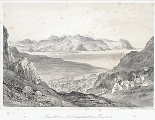Llandudno and the Caernarvonshire mountains: from the Great Ormes Head