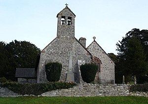 Llanelidan - Image: Llanelidan Parish church geograph.org.uk 110023