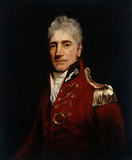Lachlan Macquarie Scottish British army officer and New South Wales colonial administrator