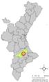 Localització de Carrícola respecte del País Valencià.png