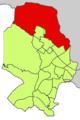 Localització de Son Anglada respecte del Districte de Ponent.png