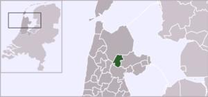 Hoogwoud - Image: Locatie Opmeer