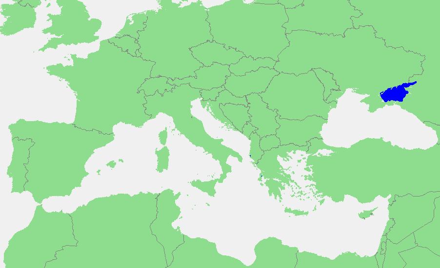 Locatie Zee van Azov