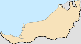 Miri is located in Miri
