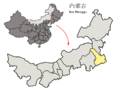 Location of Tongliao Prefecture within Inner Mongolia (China).png