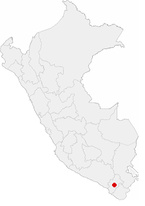 Location of the city of Moquegua in Peru.png