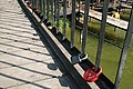 Locks on Star City Bridge (5981178085).jpg