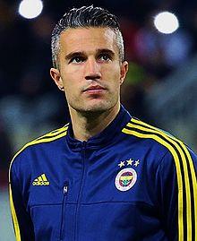 van Persie al Fenerbahçe nel 2016.