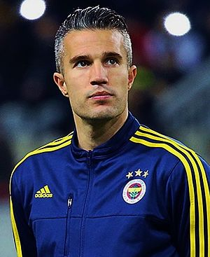 Robin van Persie - Van Persie with Fenerbahçe in February 2016